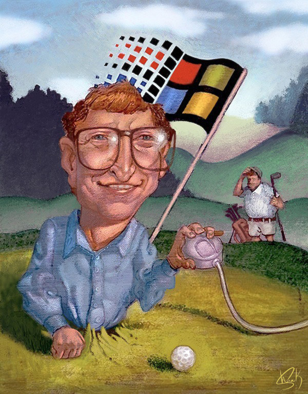 Cody Shank_BillGates_Sketch and painting_A6_02Large_04